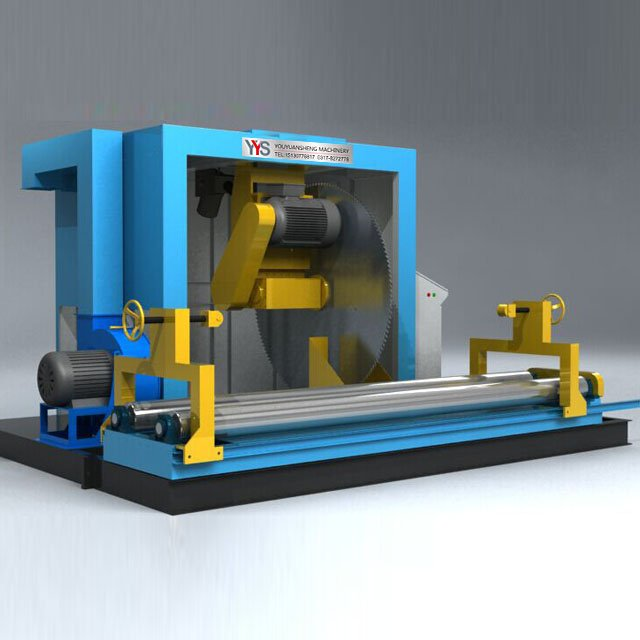 China Paper Roll Cutting Machine With Blade